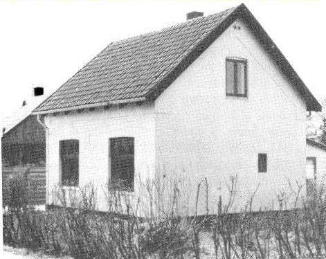 Husene var engang helt ens